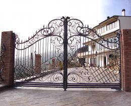 Кованые ворота в Воронеже №49