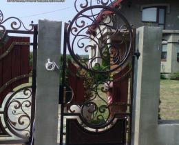Кованые ворота в Воронеже №139