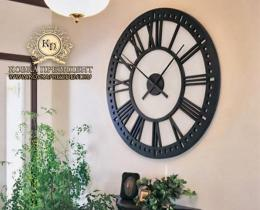 Кованые часы в Воронеже №17