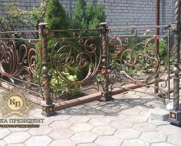 Кованые ограждения в Воронеже №11